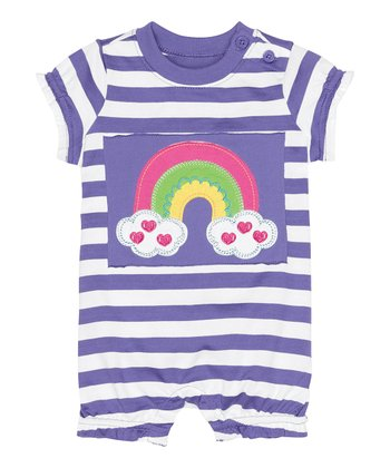 Medium Lilac Get Appy Bubble Romper - Infant & Toddler