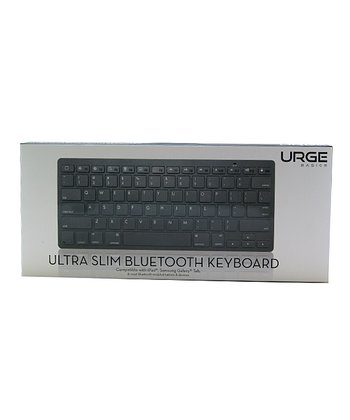 Black Ultra-Slim Bluetooth Keyboard