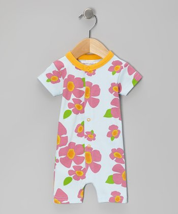 Orange Gentle Breeze Organic Romper