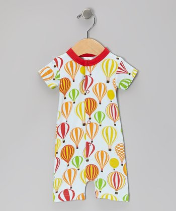Red Balloon Safari Organic Romper