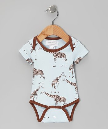 Brown Standing Tall Organic Bodysuit