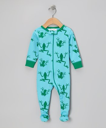 Blue Ribbit Organic Footie