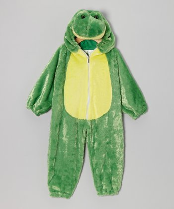 Green Frog Plush Dress-Up Outfit - Infant