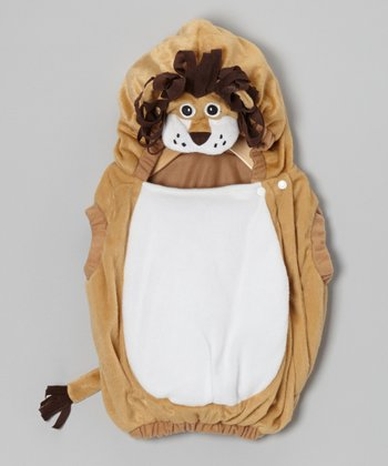 Tan Lion Plush Dress-Up Outfit - Infant