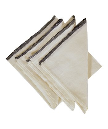 Blue & White Toulon Napkin -