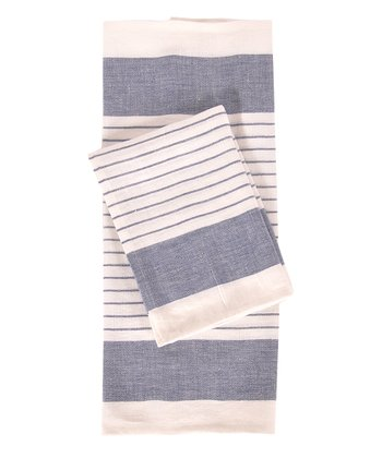 Blue & White Le Havre Kitchen Towel -
