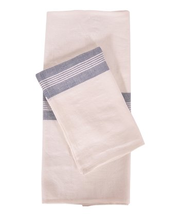 Blue & White Lorient Kitchen Towel -