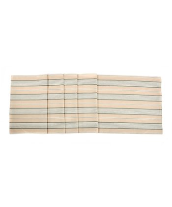 Mason Ticking Table Runner