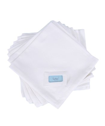 White Napkin - Set of Eight
