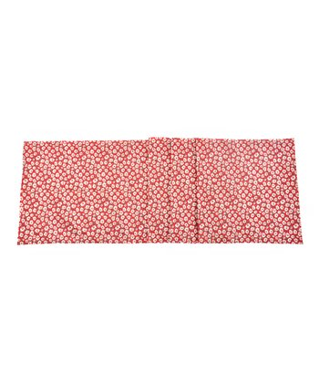 Red Daisy Table Runner