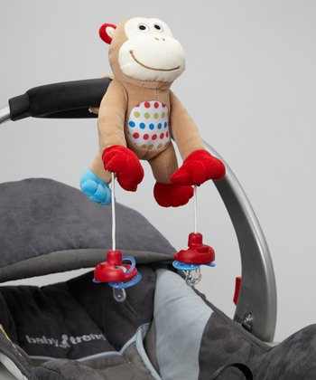 PullyPalz MoMo Monkey Pacifier Holder