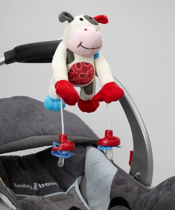 PullyPalz MooMoo Cow Pacifier Holder
