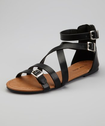 Black Candle-38 Gladiator Sandal
