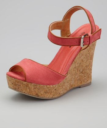 Fuchsia IN-27 Wedge Sandal
