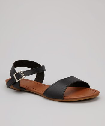 Black Peak-1 Sandal