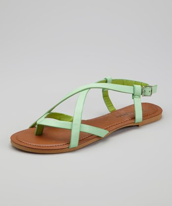 Light Green Trade-4 Sandal