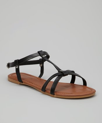 Black Young-58 Sandal