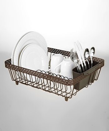 Rust Infiniti Drying Dish Rack