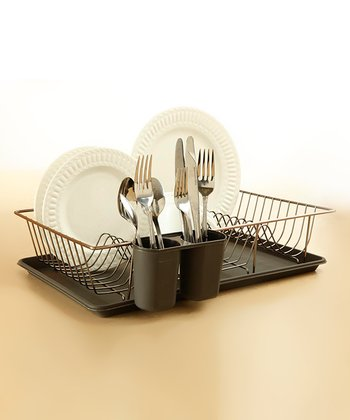 Black Dish Drying Rack