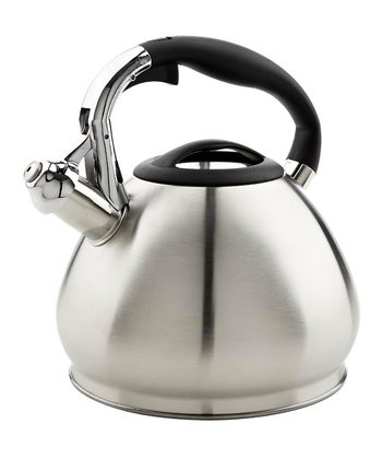Silver 3.6-Qt. Stainless Steel Whistling Tea Kettle