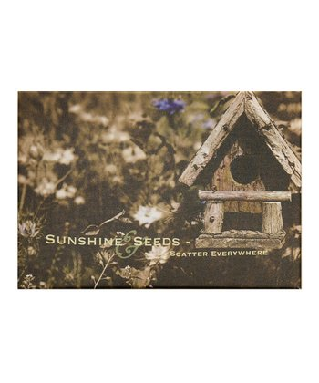 Outdoor Birdhouse Canvas Art
