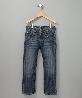 Light Blue Straight Leg Jeans - Toddler & Boys