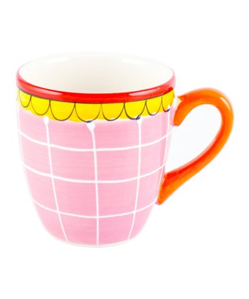 Pink Scallop Mini Mug