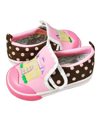 Pink & Brown Fairy Tale Shoe
