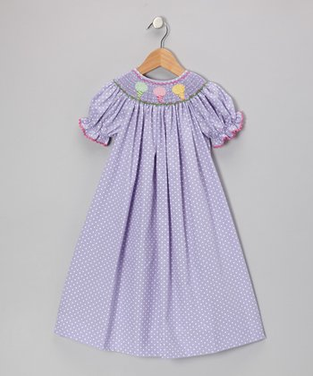 Purple Cotton Candy Bishop Dress - Infant, Toddler & Girls