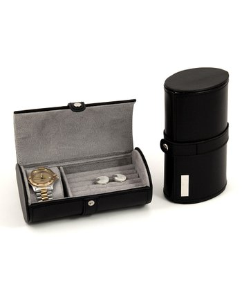 Watch/Cuff Links Travel Case