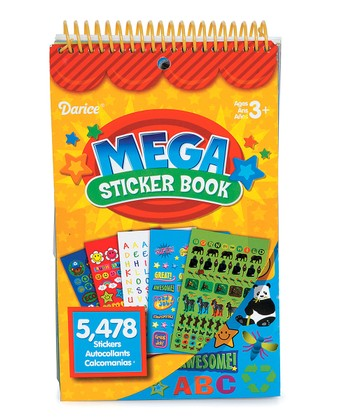 Teacher Mega Sticker Book