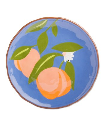 Cornflower Peach Lunch Plate - Set of Two