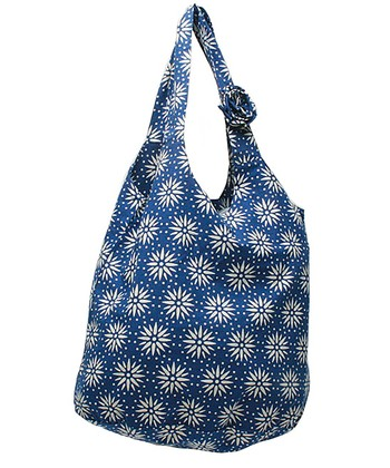 Blue Starburst Shopper