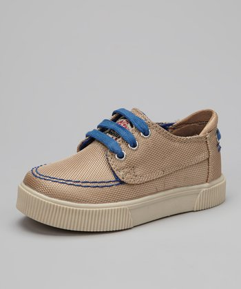 Khaki & Royal Casual Sneaker