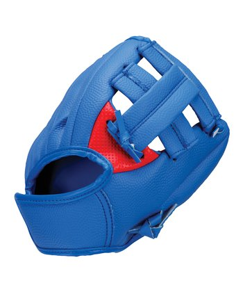 "Red & Blue 9"" Soft Tech Glove & Ball"