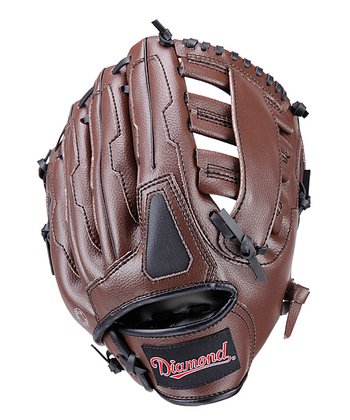"Brown 10.5"" Double Web Right-Handed Glove"