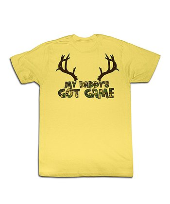 Banana 'My Daddy's Got Game' Tee - Toddler & Kids