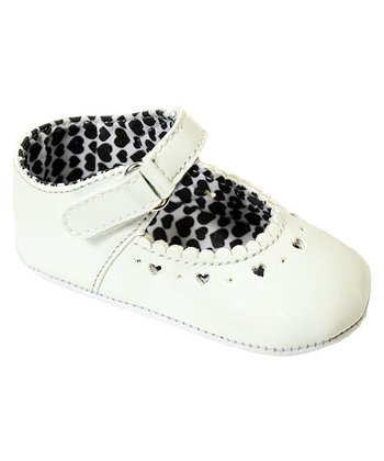 Beibi - White Paris Shoe 6-12 months
