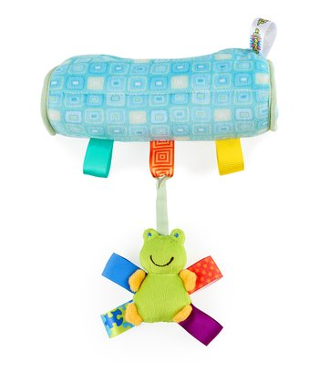 Blue Frog Carrier Cushion