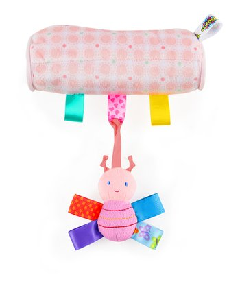Pink Butterfly Carrier Cushion