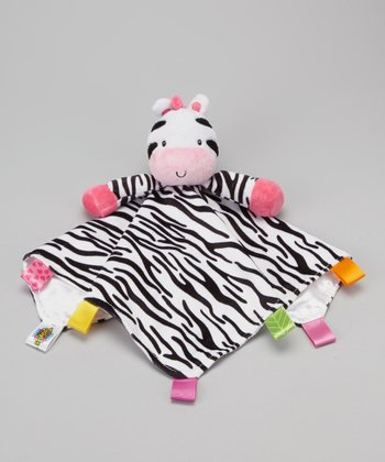 Zebra Snuggle Buddy Security Blanket