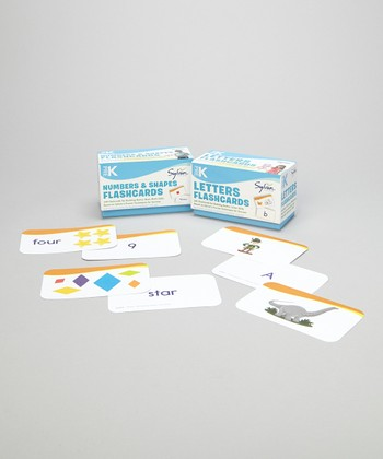 Pre-K Numbers & Letters Flashcard Set