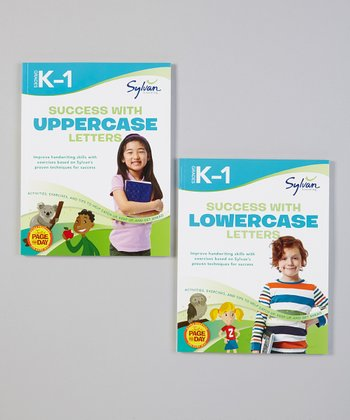 K-1 Uppercase & Lowercase Paperbacks