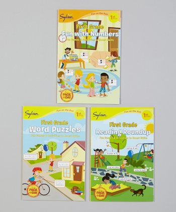1st Grade Fun With Numbers Paperback Set