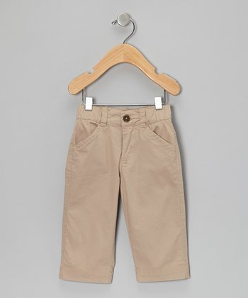 Khaki Twill Pants - Infant