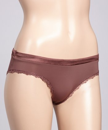 Brown Everyday Bikini Briefs - Women & Plus