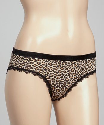 Leopard Everyday Bikini Briefs - Women & Plus