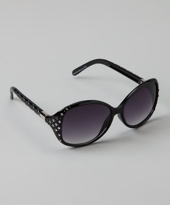 Black Stud Sunglasses