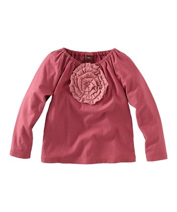 Begonia Fiesta Flower Top - Infant, Toddler & Girls