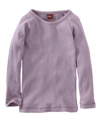 Antique Purple Ribbed Purity Tee - Infant & Girls